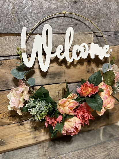 Welcome Wreath Kit