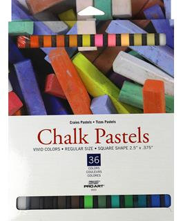 Pro Art Chalk Pastels 36pc