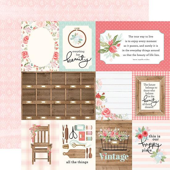 3x4 Journaling Cards - Carta Bella Farmhouse Market Collection