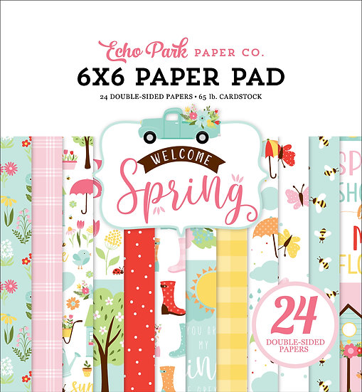 6x6 Paper Pad - Welcome Spring Collection