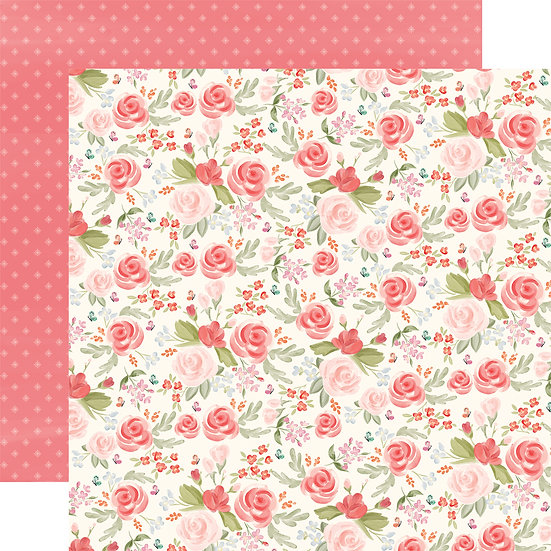 Lovely Floral - Carta Bella Farmhouse Market Collection