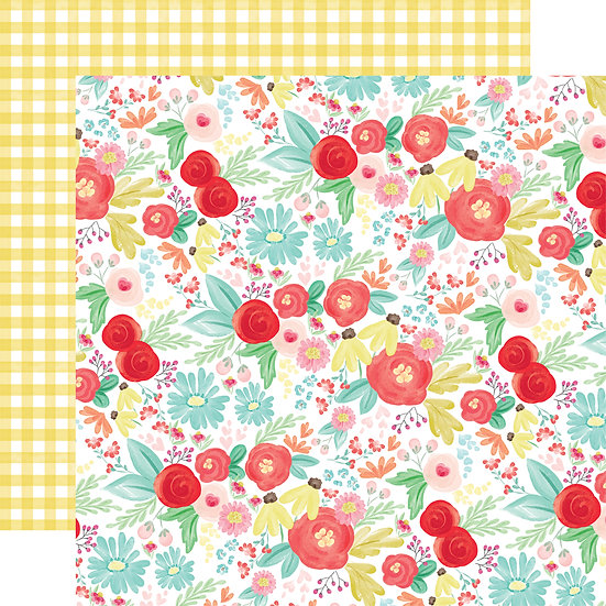 Summer Day Floral - Carta Bella Summer Market Collection