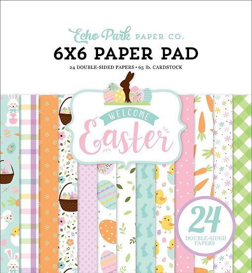 6x6 Paper Pad - Welcome Easter Collection