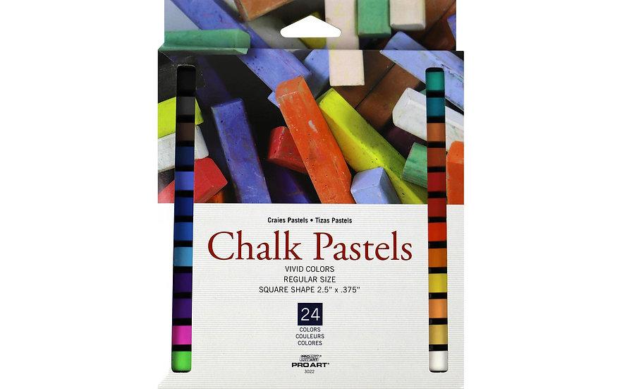 Pro Art Chalk Pastels 24pc