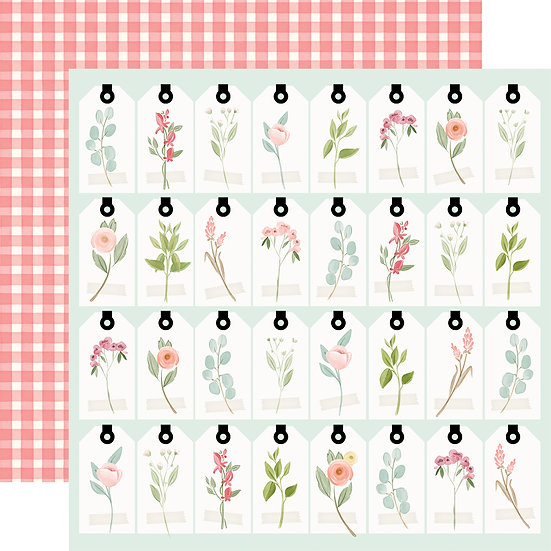 Tags - Carta Bella Farmhouse Market Collection
