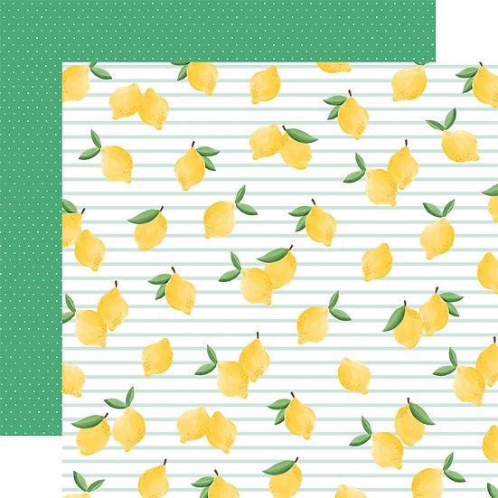 Lovely Lemons - Carta Bella Summer Market Collection