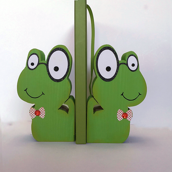 Bookworm Bookends
