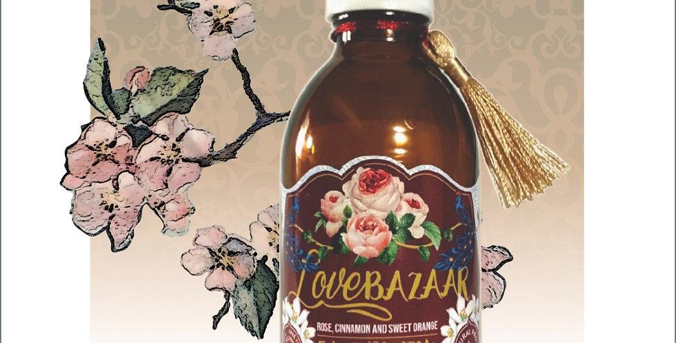 LOVE BAZAAR - Rose, Sweet Orange and Cinnamon Face Polish, 200ml
