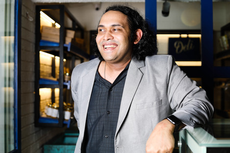 Rahul Bajaj, Owner, Deli by the Blue