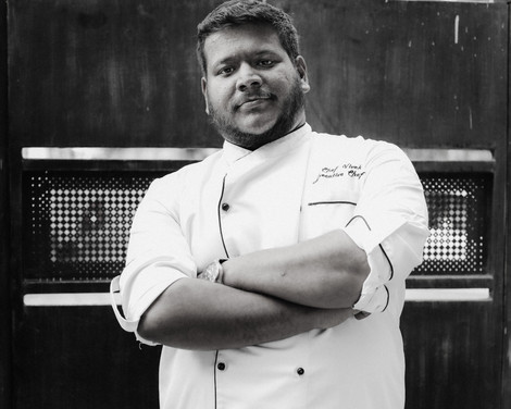 Vivek, Chef, Out of the Blue