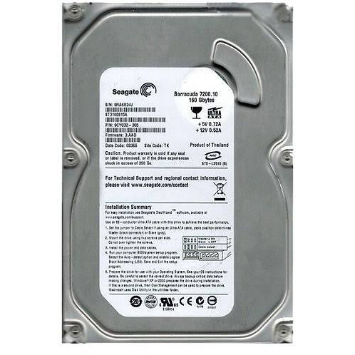 seagate laptop hard disk 160 gb