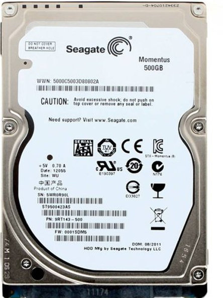 seagate laptop hard disk 500 gb