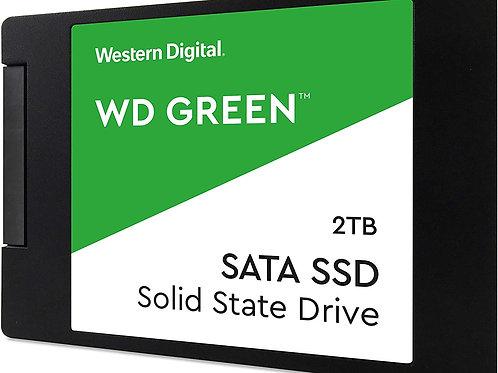 2TB WD SSD GREEN