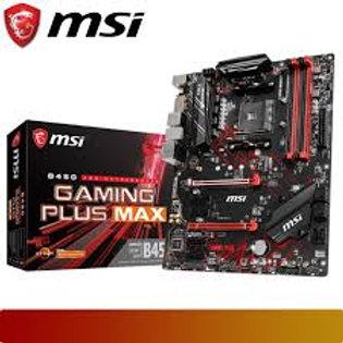 MOTHERBOARD MSI B450 GAMING PLIS MAX