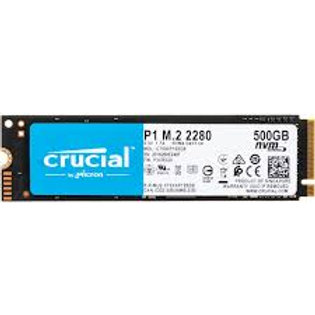 500GB SSD CRUCIAL NVME P1