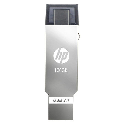 PEN DRIVE HP 128 GB X304M TYPE C OTG