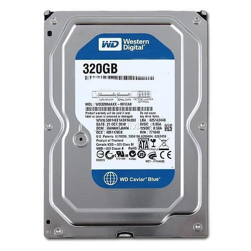 laptop hard disk wd 320 internal