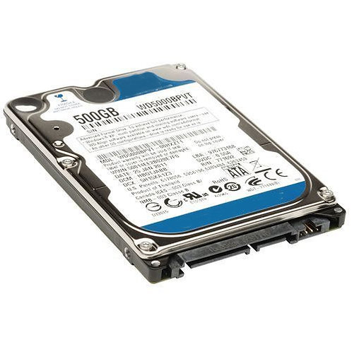 laptop hard disk wd 500gb description internal