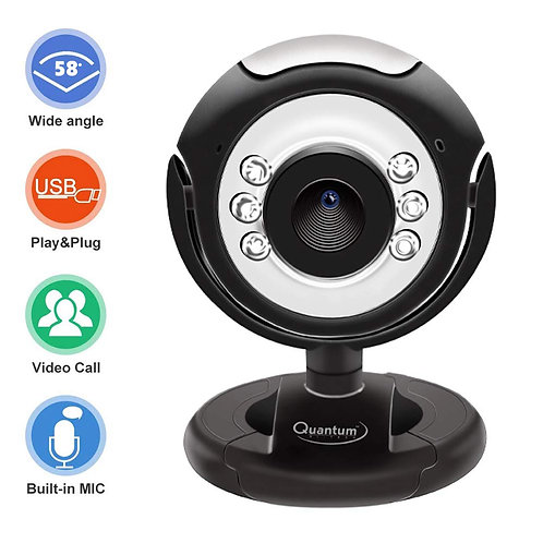 Item Name (aka Title): QUANTUM QHM495LM Webcam (Black) Product ID: 8906033680979