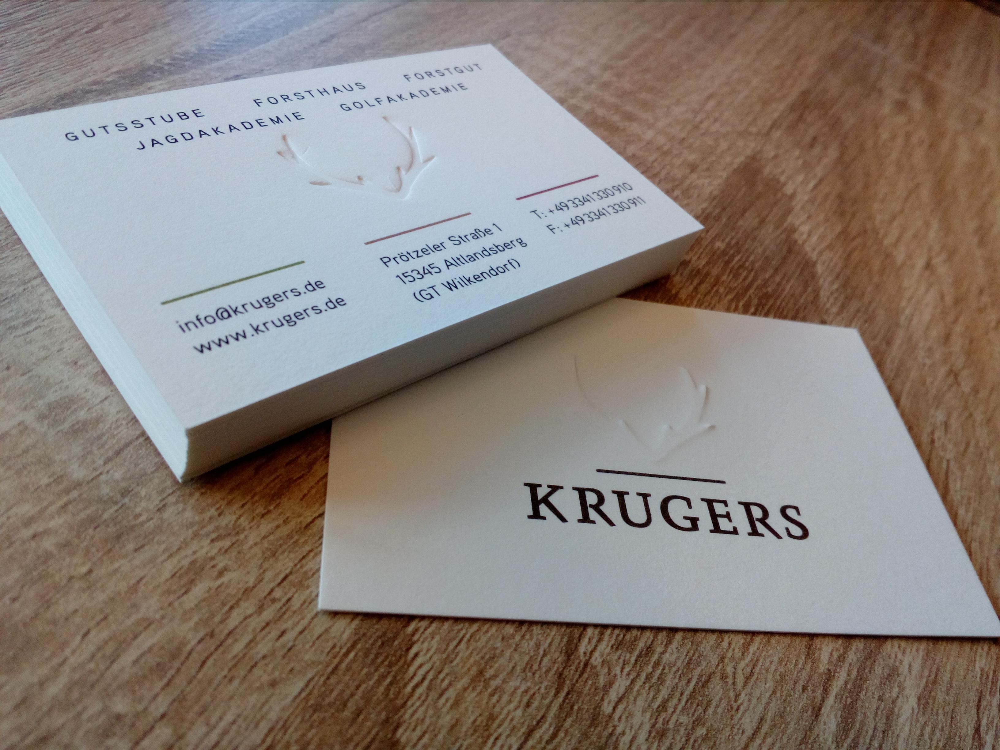 Printec Satz Druck Visitenkarten