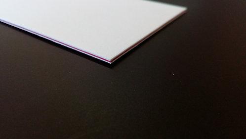 Visitenkarten mit Farbkern