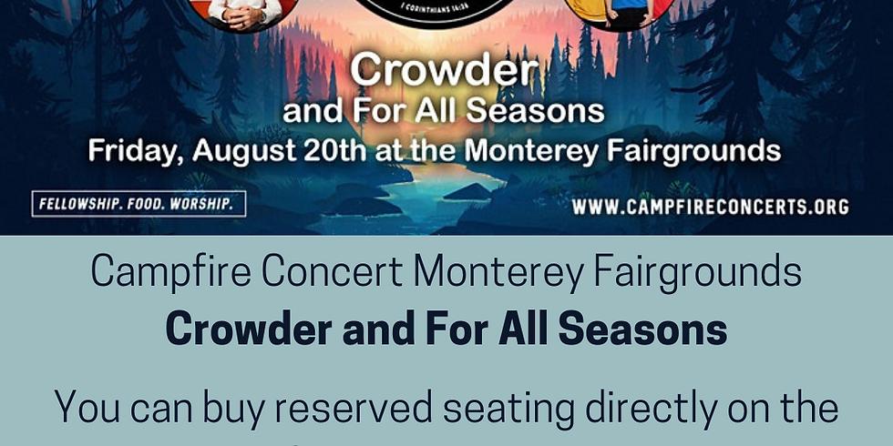 Campfire Concert with Crowder