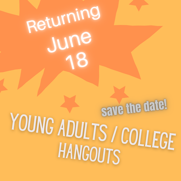 Young Adult/College Hangout