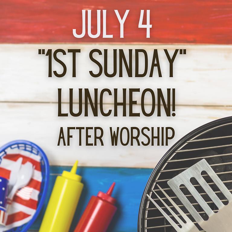 """1st Sunday"" Lunch"