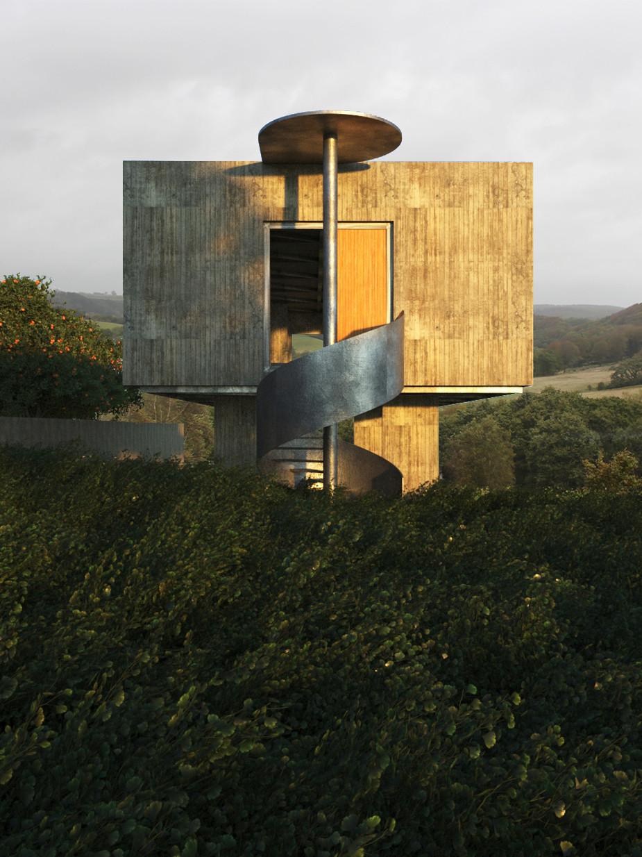 FA111_Concrete house