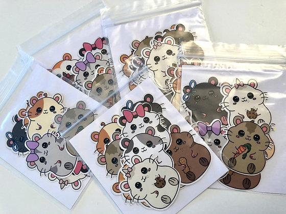 Lil' Hammies Sticker Pack