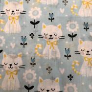4 Blue Kitties