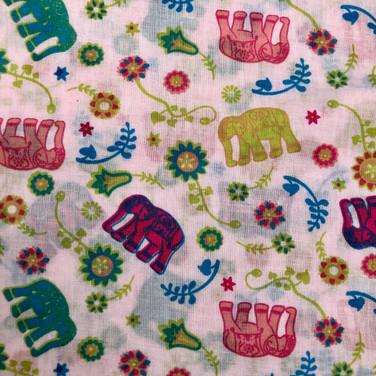 47 Pink Paisley Elephants
