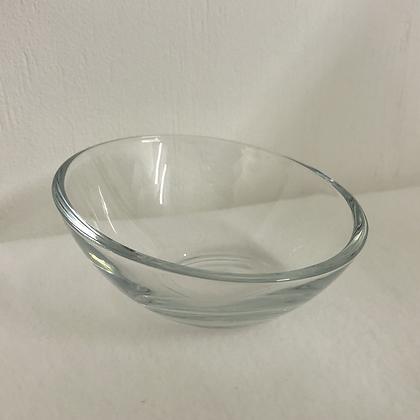 Sloped Glass Dish
