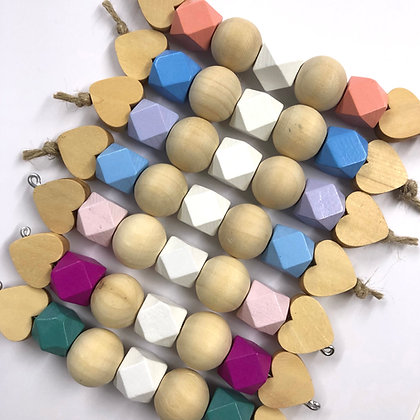 Geo Wooden Chew Toy