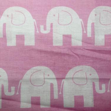 50 White Pink Elephants