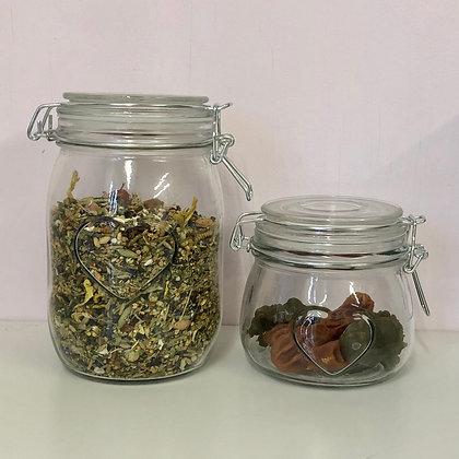 Heart Food Jar