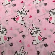 16 Cute Pink Bunnies