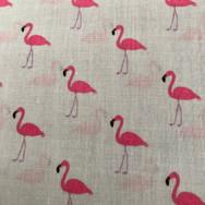 22 Grey Flamingos