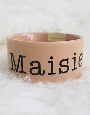 Personalised Mason Cash Food Bowl