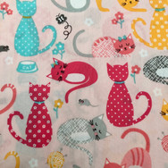 8 Pink Cats