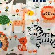 44 White Orange Zoo