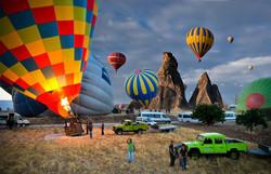Half Day-Istanbul Hot Air Balloon