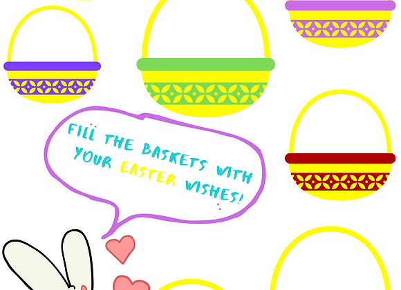Easter Wishes Worksheet