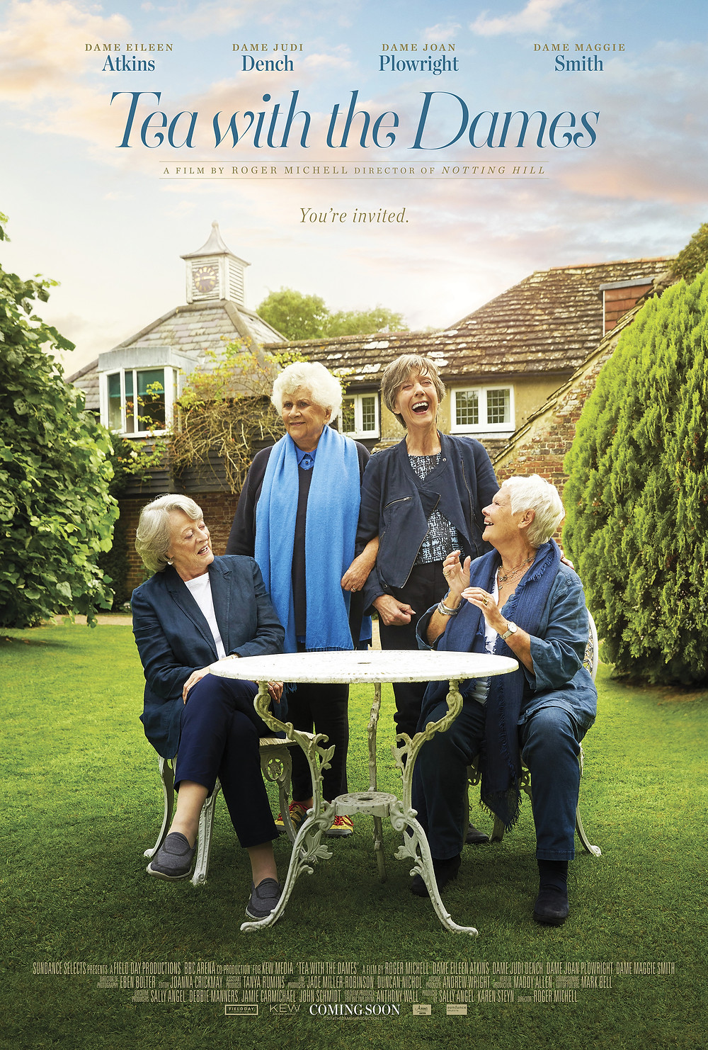 DVD cover of Tea with the Dames