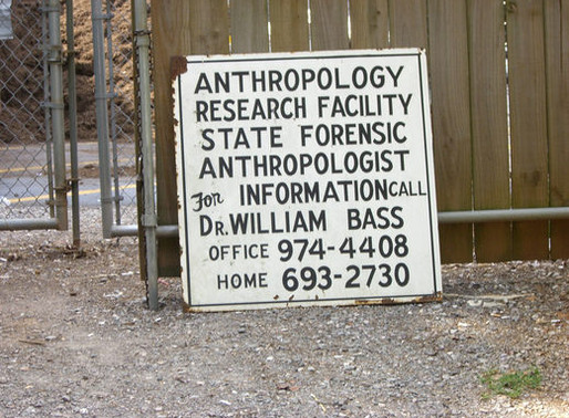 A Quick Look at a Body Farm, aka a Taphonomic Cemetery