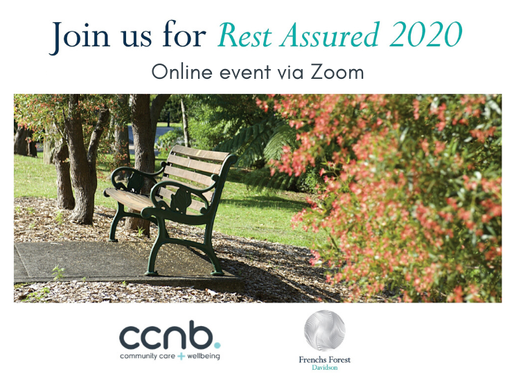 Hear me speak about advance planning in a special Zoom event
