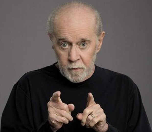 George Carlin. Image courtesy of Reuters.