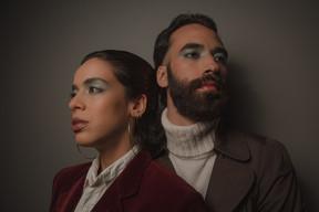 Renan Ferreira e Marina Merlino