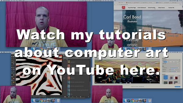 Watch my tutorials about computer art on YouTube here.