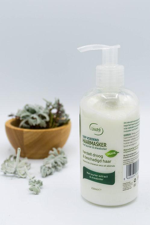 Livayi Herbalicea Laurier & Sheaboter haarmasker